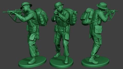 Modern Jungle Soldier Shoot Stand MJS1