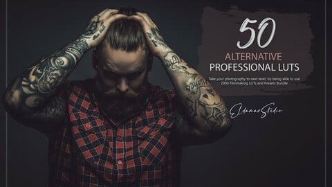 50 Alternative LUTs and Presets Pack