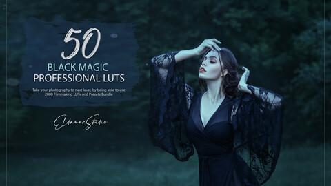 50 Black Magic and Presets LUTs Pack