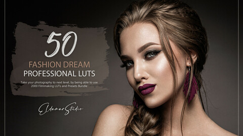 50 Fashion Dream LUTs and Presets Pack