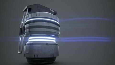 Mini Scifi Grenade