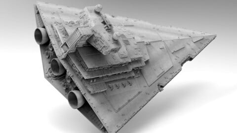 Imperial 2 Class Star Destroyer - Star Wars