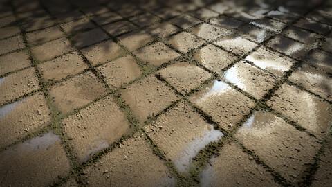 Pavement Tile Material I Substance Designer Graph