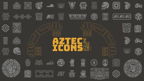 Aztec VECTOR ICONS Volume 3