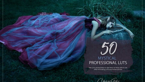50 Mystical LUTs and Presets Pack