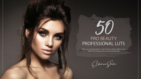50 Pro Beauty LUTs and Presets Pack