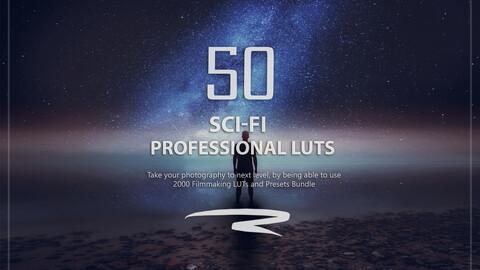 50 Sci-Fi LUTs Pack