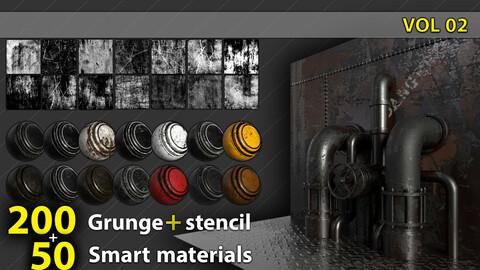 stencil & materials pack 02