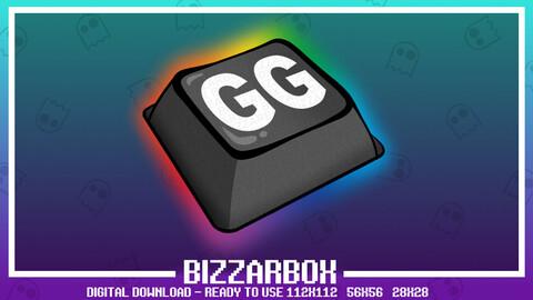 Twitch Emote: GG Key