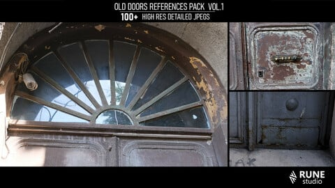 Old doors reference pack VOL.1