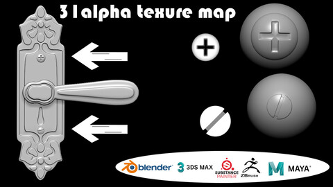 Machine detail alpha map