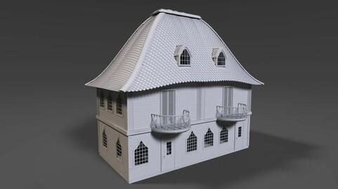 POLYGON Tiled House