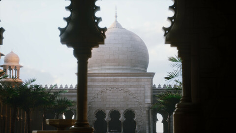 Mosque Environment (Unreal Engine 5)