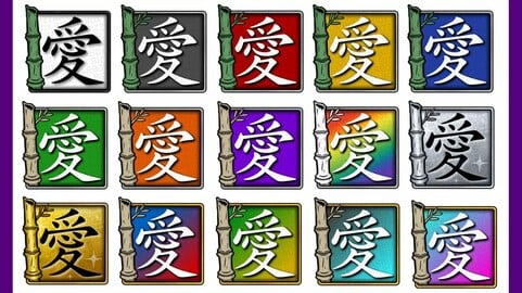 Twitch Sub Badges: Bamboo Love