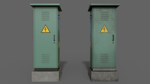 PBR Electric Box (Green) Ver.2