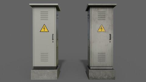 PBR Electric Box (LightGrey) Ver.2