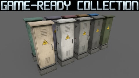 PBR Electric Box Ver.2 - Collection