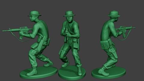 Modern Jungle Soldier Shoot Stand4 MJS1