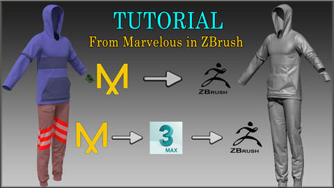 Tutorial - From Marvelous in ZBrush