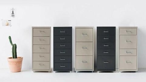 FIHA iron chest of drawers