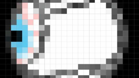 Eye In Pixel Style