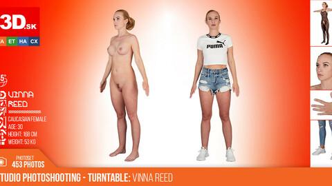 Turntable photoshooting reference Vinna Reed