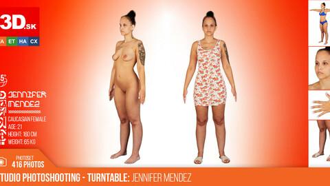 Turntable photoshooting reference Jennifer Mendez