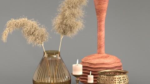 Pampass Decoration set