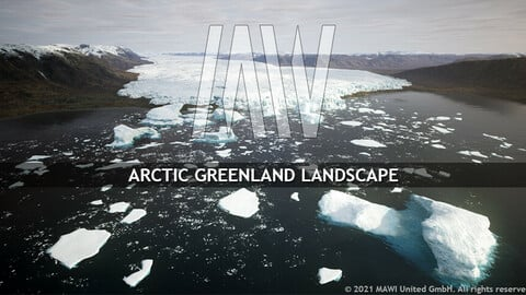 MW ARCTIC GREENLAND LANDSCAPE