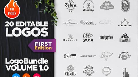 Logo Bundle. Volume 1.0. First Edition