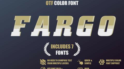 OTF color font - Fargo