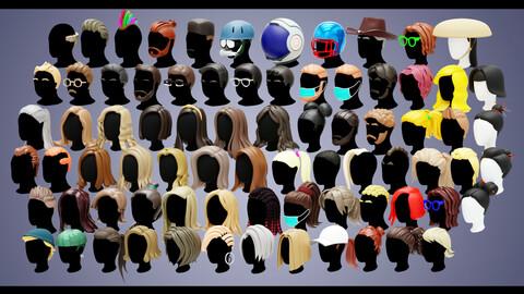 80 Base Stylized Haircuts