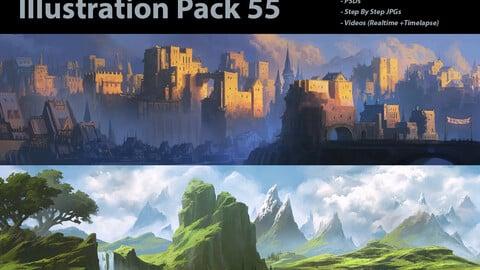 Illustration Pack 55 (not a stock asset)