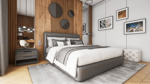 ArchViz Bedroom Vol.1