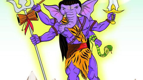 Rudra Ganesha