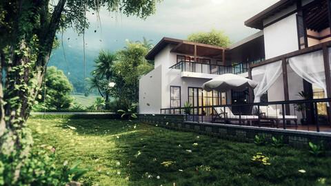 Villa - Back Mountain - Leisure - Balcony
