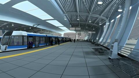 City High Speed Rail Station 02