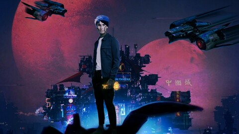 Ready Player One Character Art