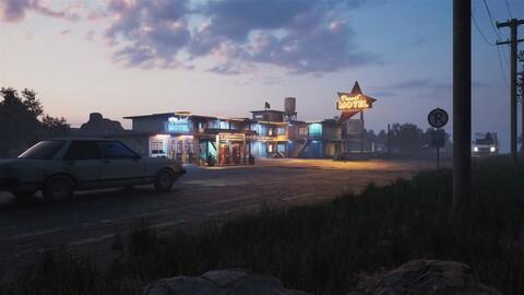 Motel Environment - (Unreal Engine - Environment)