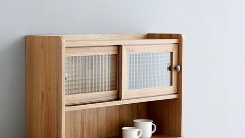 POLABO mini cabinet with 2 wide doors SHM4262SL