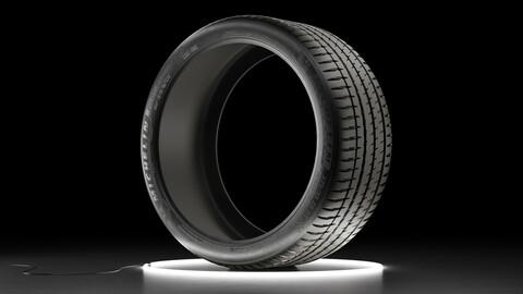 Car tire Michelin Pilot Sport 4S 3D model