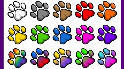 Twitch Sub Badges: Paws