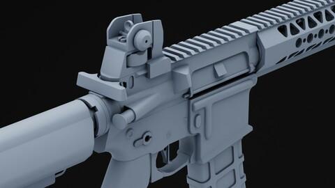 M4 - LVOA (lowpoly)