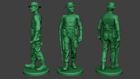 Modern Jungle Soldier Walk6 MJS1