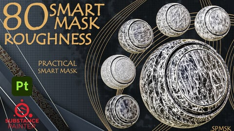 80 Practical and useful roughness smart mask high quality - VOl 04