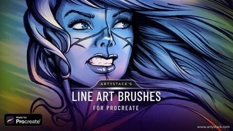 Line Art – Procreate Brushes
