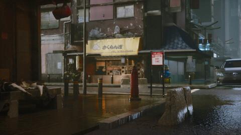 Tokyo Street UE5/UE4 Environment