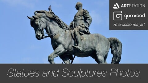 Statues and Sculptures - Photo Pack