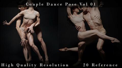 Couple Dance Poses Vol 01