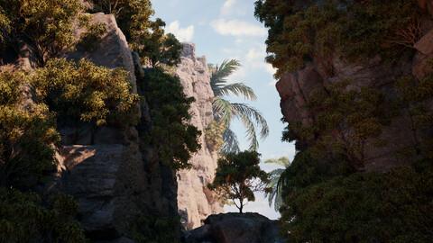 Beach Island - (Unreal Engine - Environment)